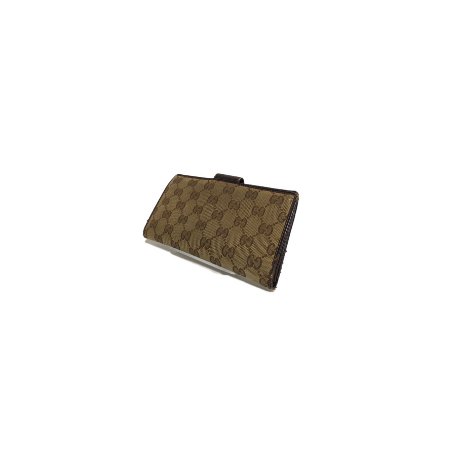 GUCCI/Long Wallet/Canvas/BRW