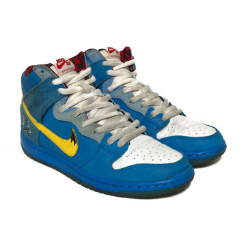 NIKE SB/FAMILIA BLUE OX/Hi-Sneakers/US9.5/BLU/Leather/Plain