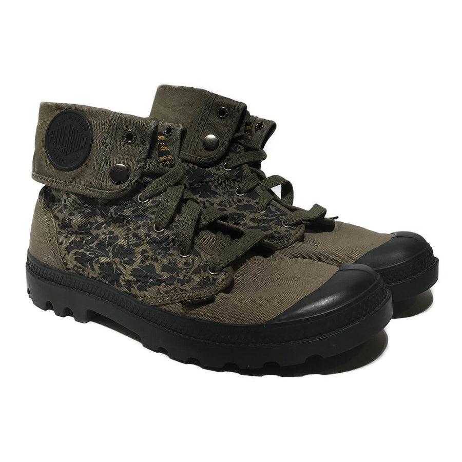 PALLADIUM/X SBTG/Shoes/8/GRN/Cotton/Camouflage