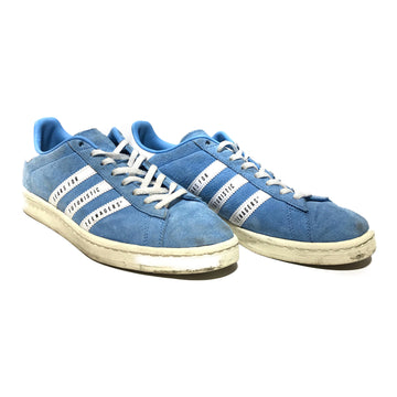 Adidas/CAMPUS HUMAN MADE/Low-Sneakers/US8.5/BLU/Suede/Graphic