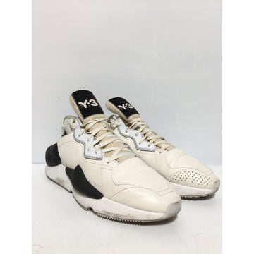 Y-3/US12.5/Low-Sneakers/WHT/Others/Border