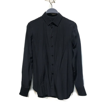 SAINT LAURENT//LS Shirt/36/BLK/Others/Plain