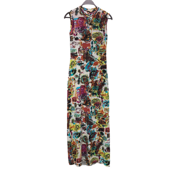 Jean Paul Gaultier//Dress/S/MLT/Others/All Over Print