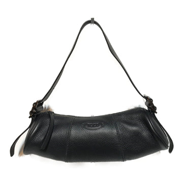 TODS//Hand Bag//BLK/Leather/Plain
