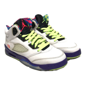 Jordan/RETRO 5 ALTERNATIVE BEL AIR/Hi-Sneakers/6/WHT/Others/Plain