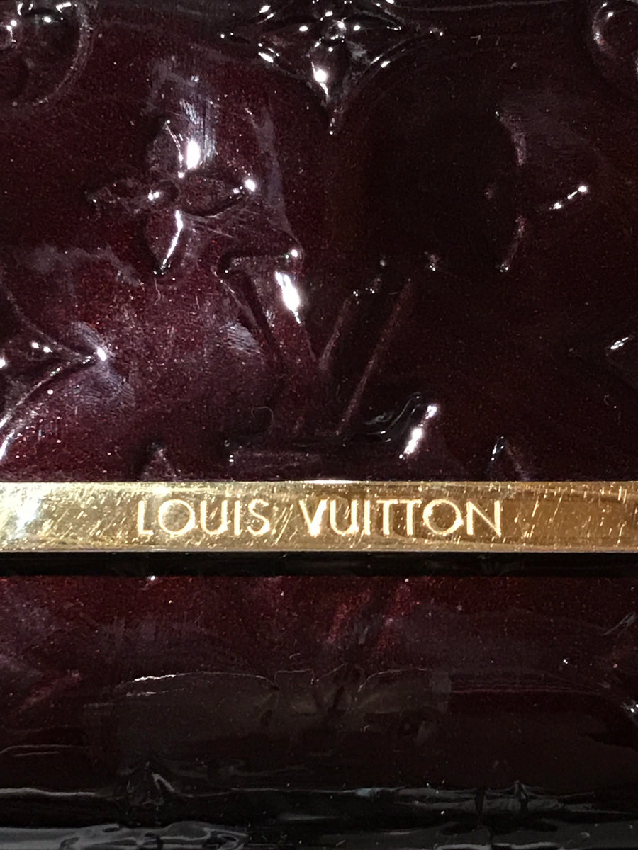 LOUIS VUITTON/MONOGRAM VERNIS/Hand Bag//PPL/Leather/All Over Print