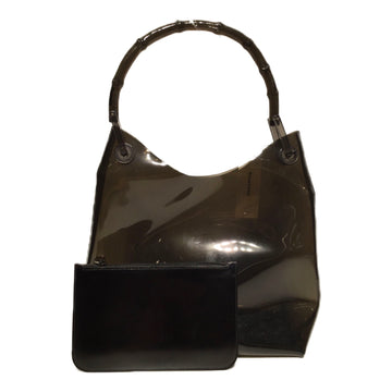 GUCCI/PVC BAMBOO/Bag//BLK/Others/Plain