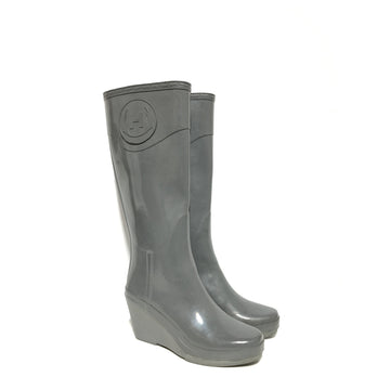 HUNTER/US7/Rain Boots/GRY/Others/Plain