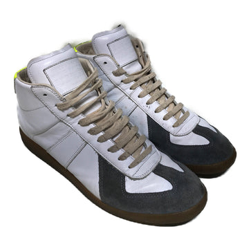 Maison Martin Margiela//Hi-Sneakers/44/WHT/Others/Plain