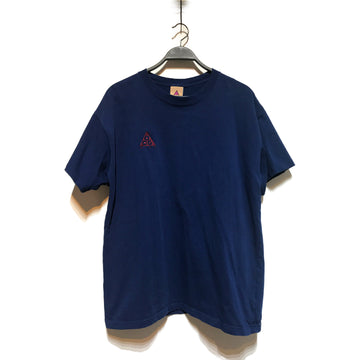 NIKE ACG//T-Shirt/./NVY/Cotton/Plain