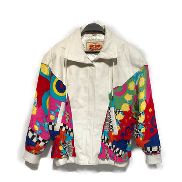 AVANTI/VINTAGE/Jacket/M/MLT/Leather/All Over Print