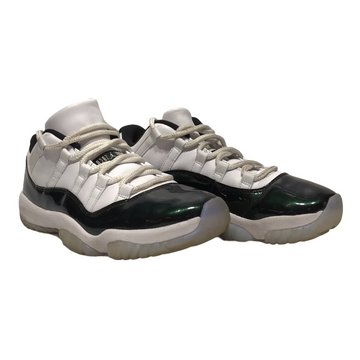 Jordan/11 RETRO LOW/Hi-Sneakers/8.5/WHT/Leather/Plain