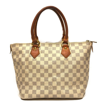LOUIS VUITTON/SMALL HAND BAG/Tote Bag//WHT/Leather/All Over Print