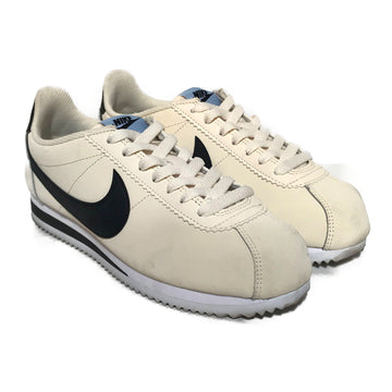 NIKE/CORTEZ/Low-Sneakers/US7.5/CRM/Cotton/Plain