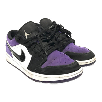 Jordan/JORDAN 1 LOW PURPLE COURT/Low-Sneakers/9/PPL/Suede/Plain