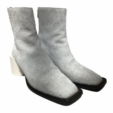 MM6//Boots/39/WHT/Suede/Plain