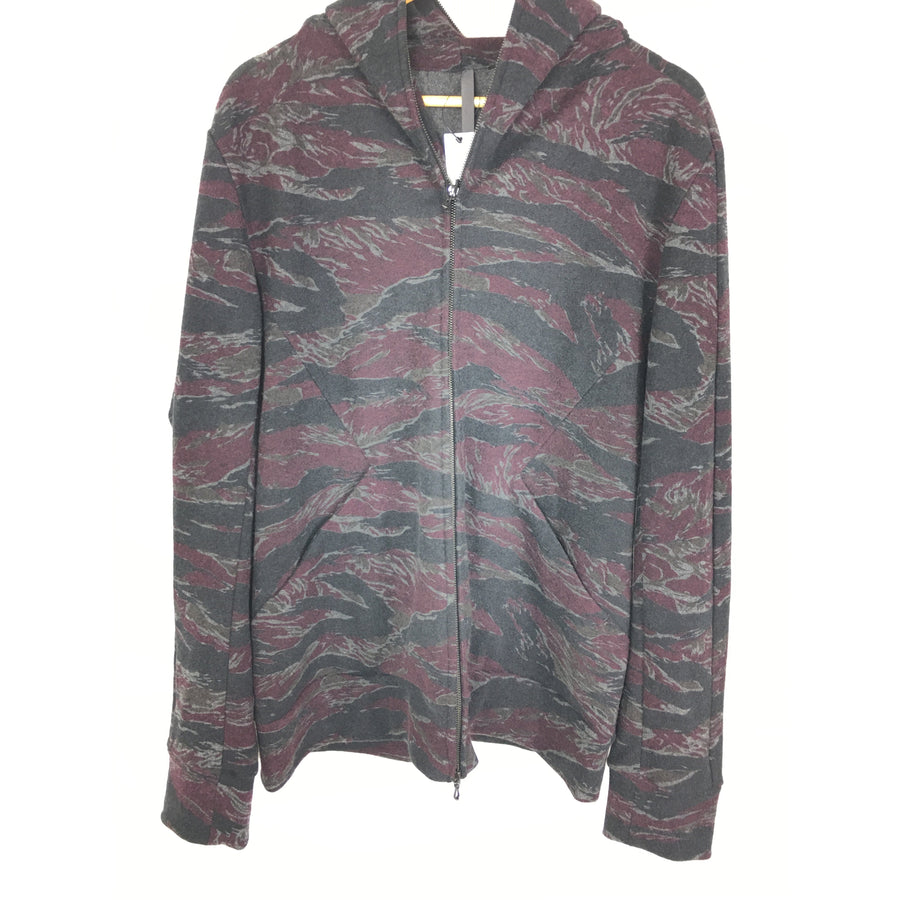 KAZUYUKI KUMAGAI ATTACHMENT/5/Zip Up Hoodie/PPL/Camouflage