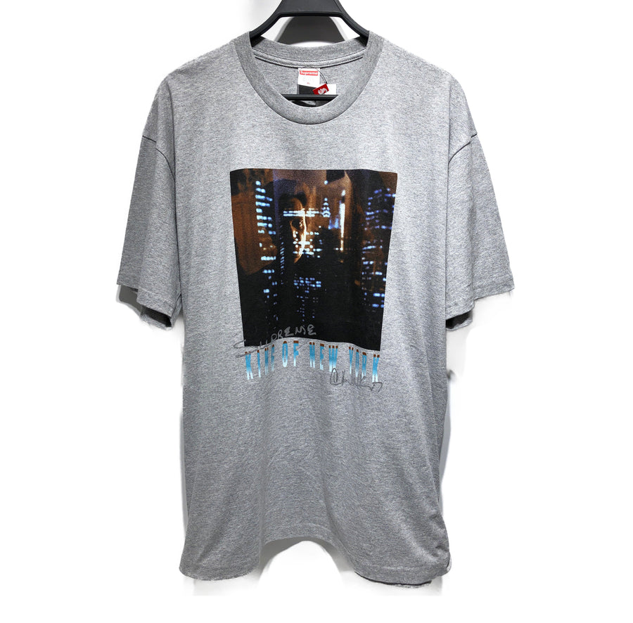 Supreme/T-shirt/XL/cotton/GRY