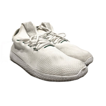 Adidas/TENNIS HU PHARREL/Low-Sneakers/10.5/WHT/Cotton/Plain