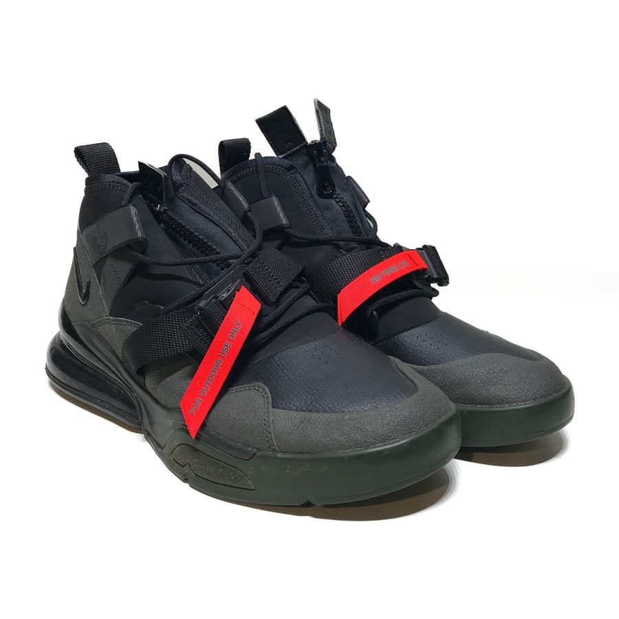 NIKE/AIR FORCE 270/Hi-Sneakers/US12/BLK/Others/Plain