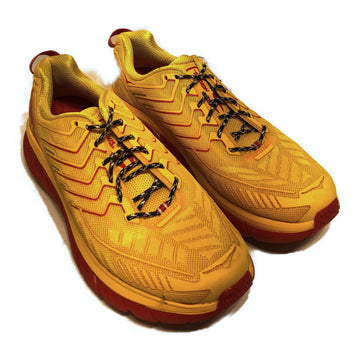 HOKA ONE ONE/HOKA X OUTDOOR VOICES CLIFTON 4/Low-Sneakers/US10.5/YEL/Nylon/Plain