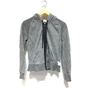 T by ALEXANDER WANG/XS/Jacket/GRY/Cotton/Plain
