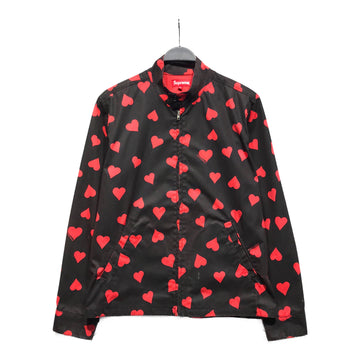 Supreme//Jacket/M/BLK/Cotton/All Over Print