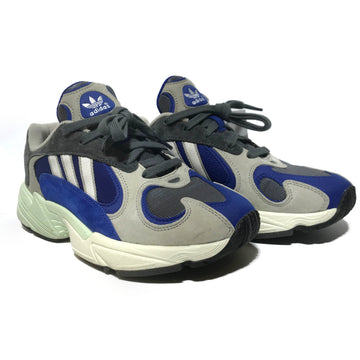 Adidas/YUNG 1/Low-Sneakers/US6/BLU/Others/Plain