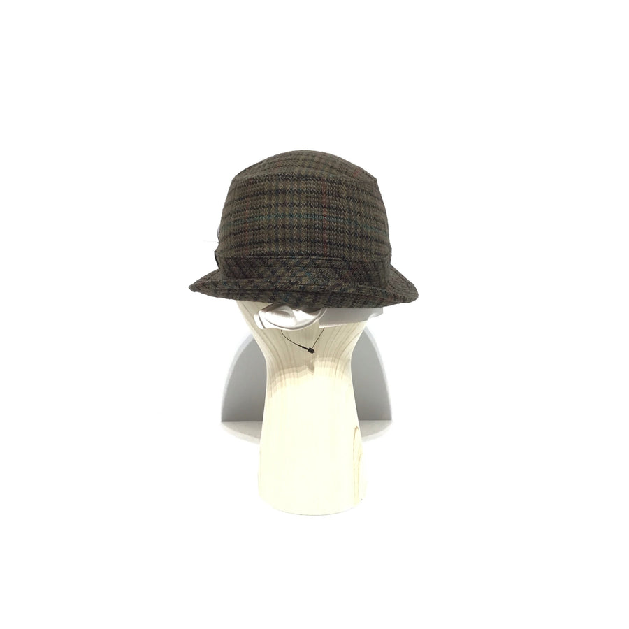 Borsalino/Hat/BRW/Wool/Plaid