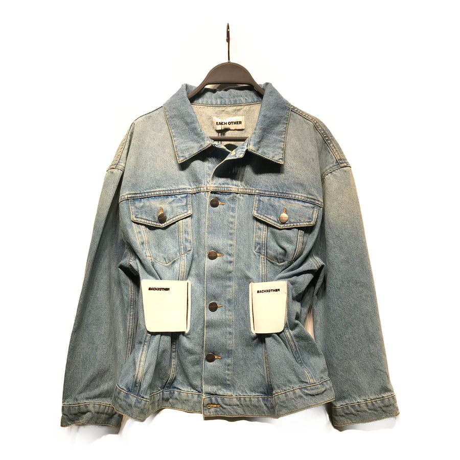 EACH X OTHER/Denim Jkt/XS/IDG/Denim/Plain