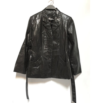 Vintage/M/Leather Jkt/BLK/Leather/Plain