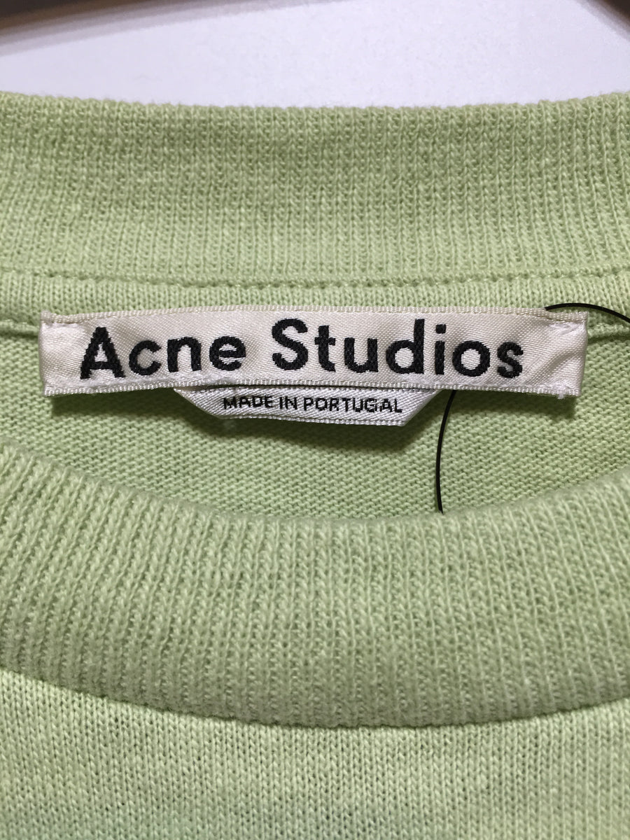Acne/XS/T-Shirt/GRN/Cotton/Graphic