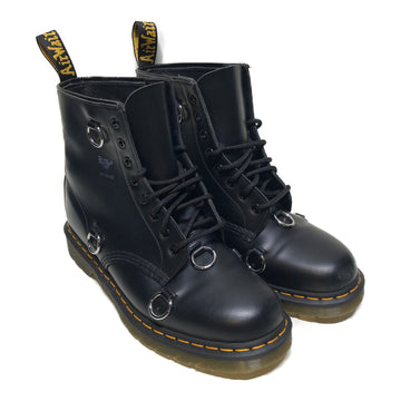 Dr.MARTENS//Hi-Sneakers/US11/BLK/Leather/Plain