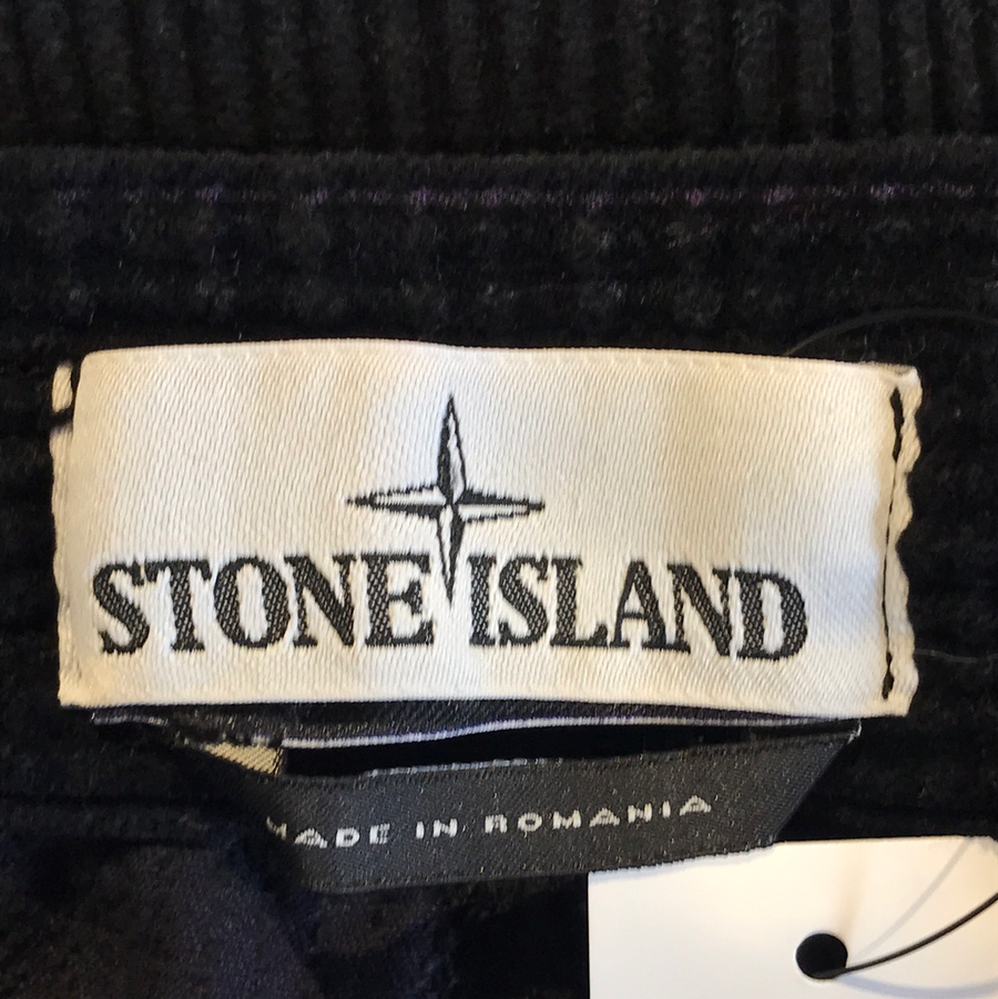 STONE ISLAND//Pants/XL/BLK/Others/Plain