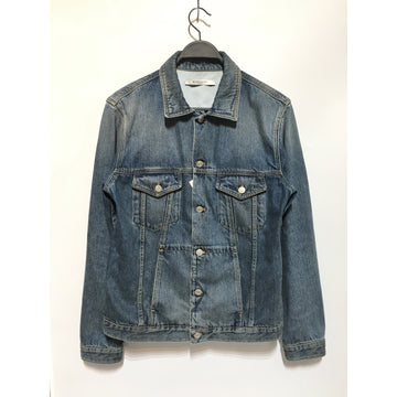 GIVENCHY/L/Denim Jkt/IDG/Cotton/Plain