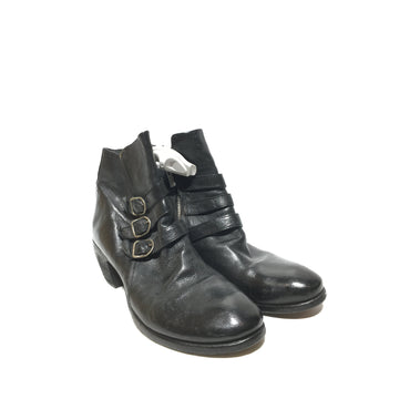 OFFICINE CREATIVE/38/Boots/BLK/Leather/Plain