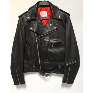Lewis Leathers/Riders Jkt (W)/36/Leather/BLK