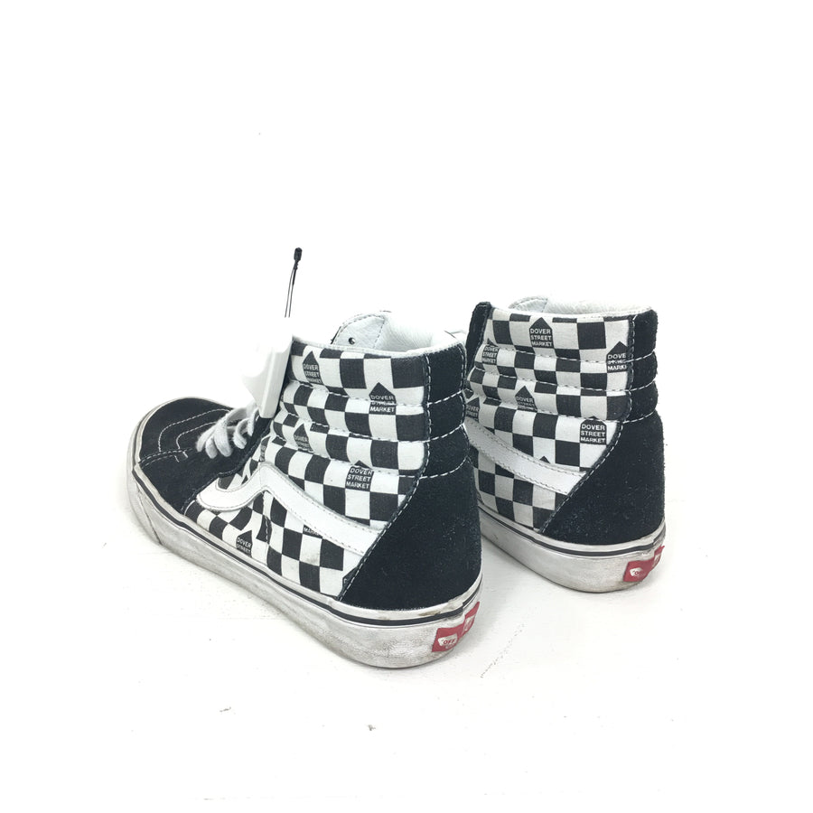 VANS/9/Hi-Sneakers/WHT/Cotton/All Over Print