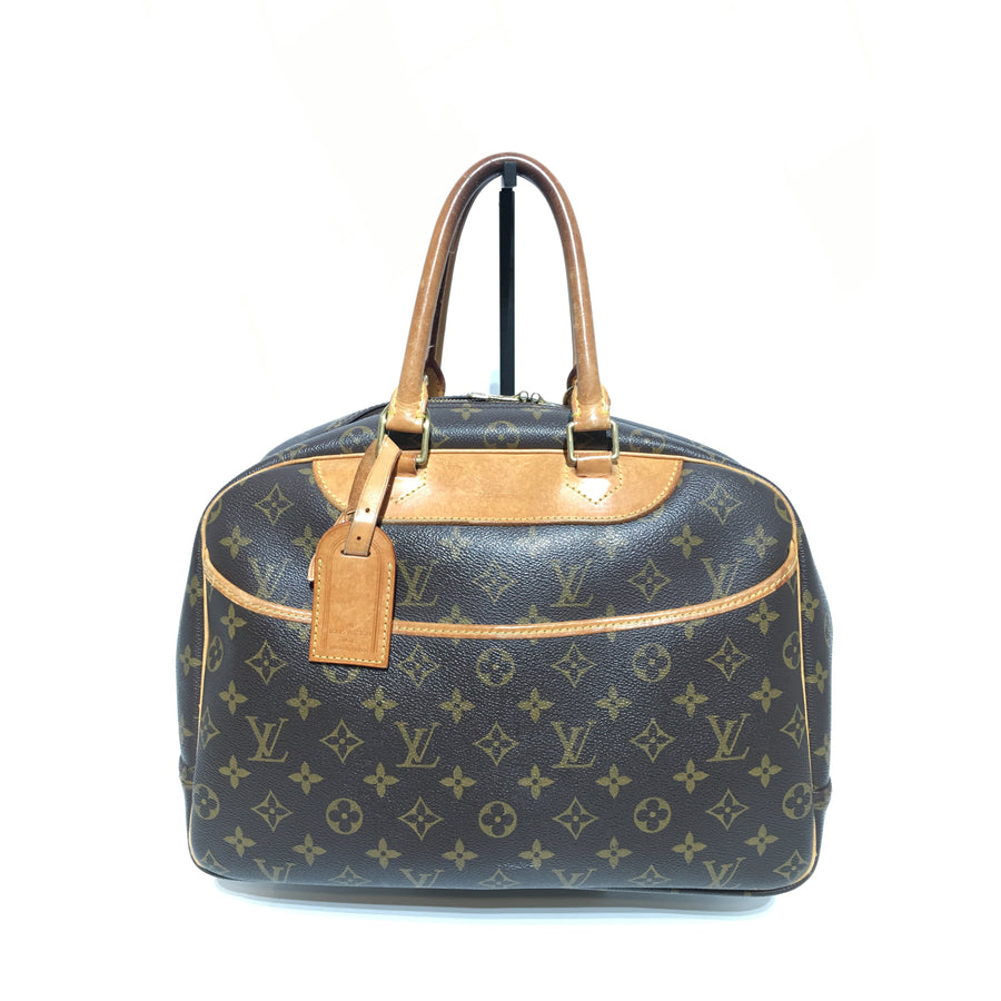 LOUIS VUITTON/Deauville_Monogram Canvas/PVC/BRW