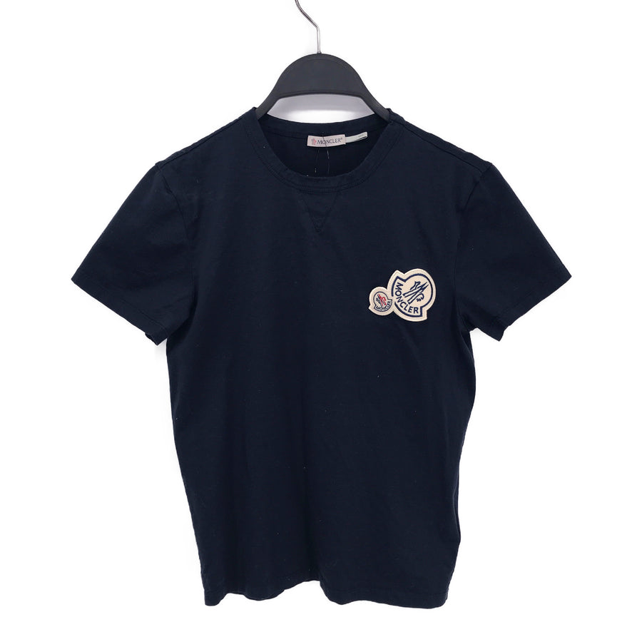MONCLER//T-Shirt/XS/NVY/Cotton/Graphic