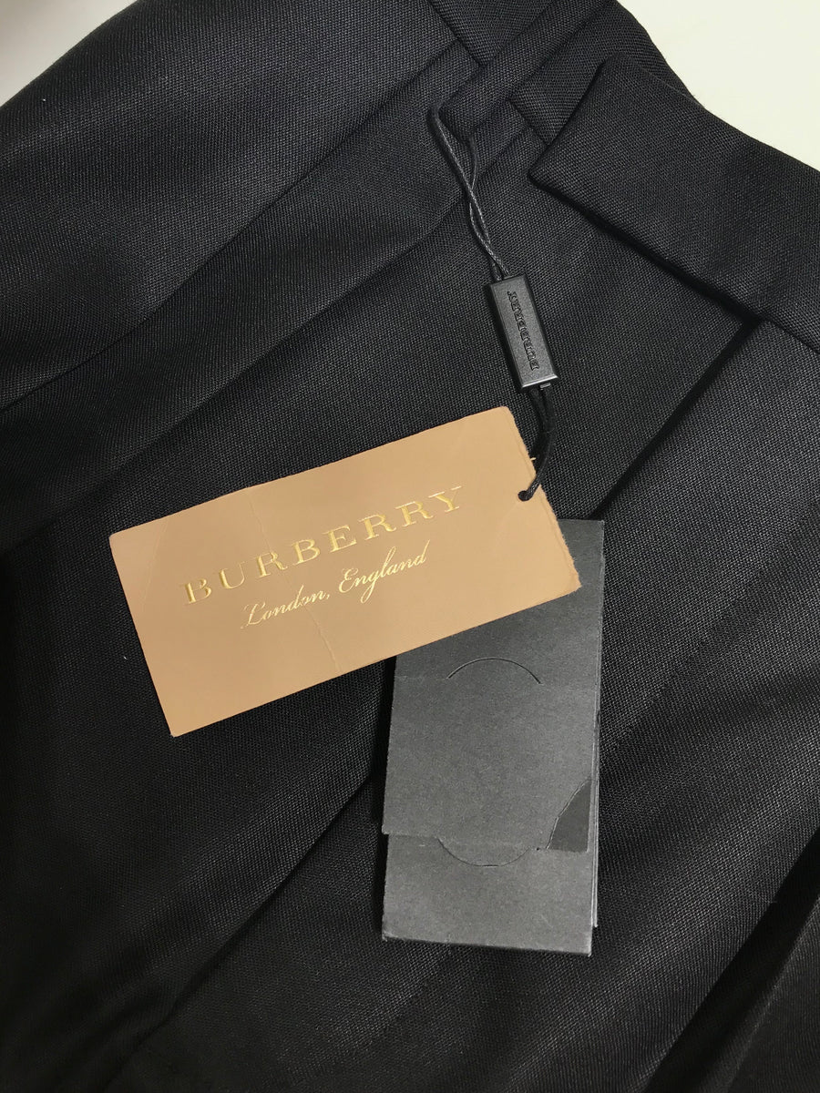 BURBERRY/48/Slacks/BLK/Others/Plain
