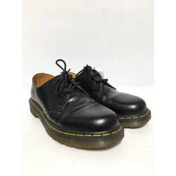 Dr.MARTENS/7/Shoes/BLK/Leather/Plain