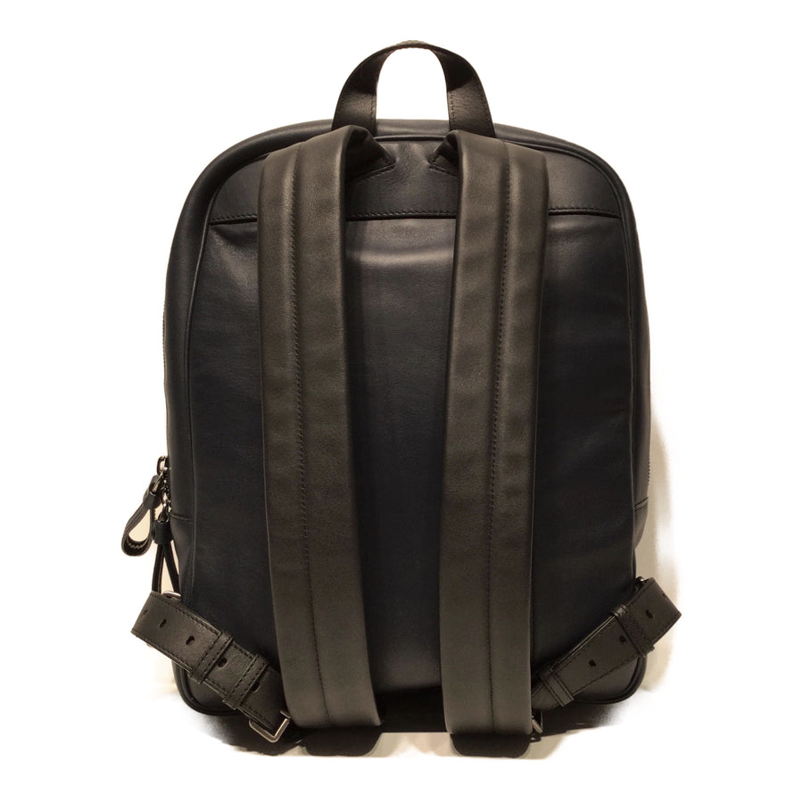 BALLY//Backpack//NVY/Leather/Plain
