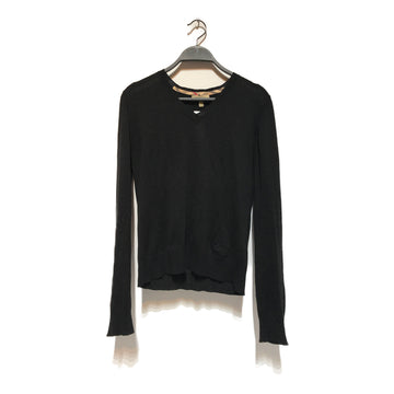 BURBERRY/LONDON/Sweatshirt/8/BLK/Cashmere/Plain