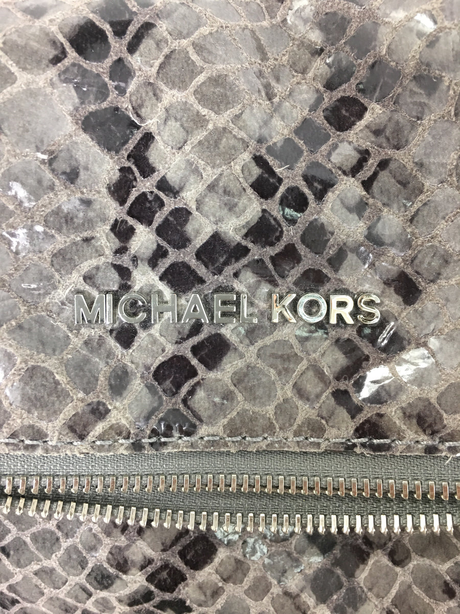 MICHAEL KORS//Bag/MLT/Leather/Animal Pattern