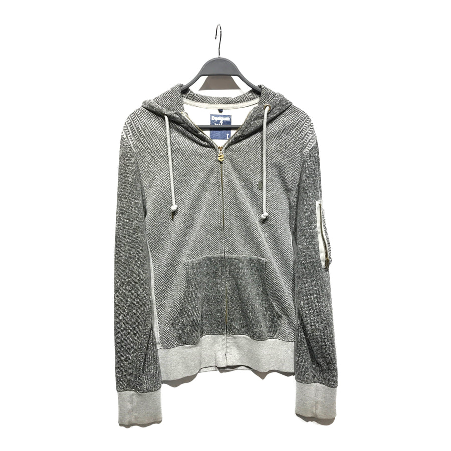 Desigual//Zip Up Hoodie/L/GRY/Others/Plain