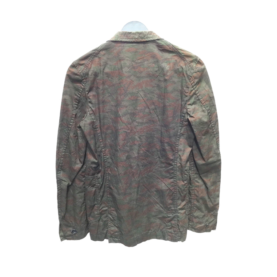 COMME des GARCONS HOMME PLUS/Tailored Jacket/SS/Cotton/Camo/PC-J067/AD2008