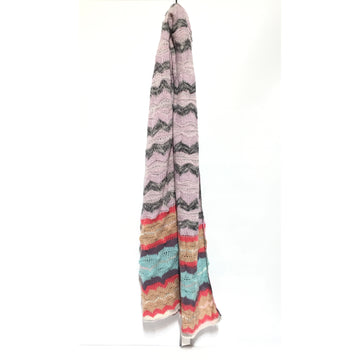 MISSONI//Stole/MLT/Wool/All Over Print