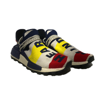 Adidas/BILLIONAIRE BOYS CLUB NMD HU/Low-Sneakers/US10.5/MLT/Cotton/Graphic