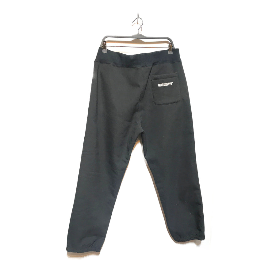 Supreme/WINDSTOPPER/Straight Pants/LARGE/BLK/Nylon/Plain